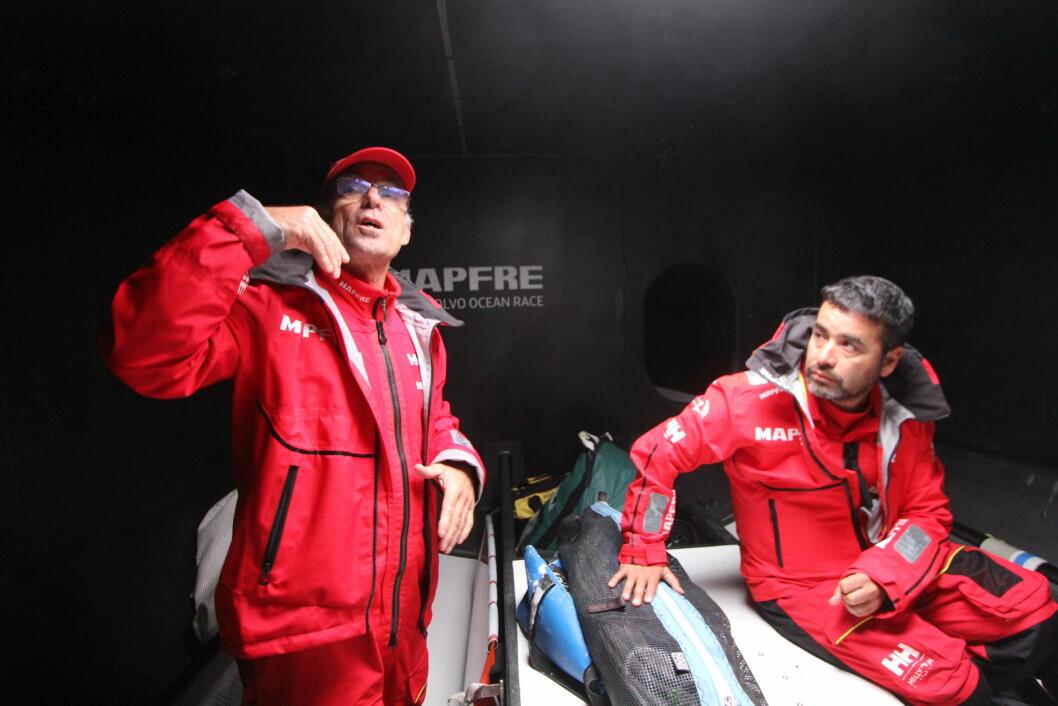 Göteborg (mannskapet på Mapfre gjør seg klare til siste etappe når SEILmagasinet er på besøk.