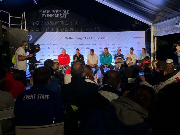 Skipperne i Volvo Ocean Race 2018
