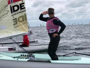 Anders Pedersen med 2. plass på åpningsdagen