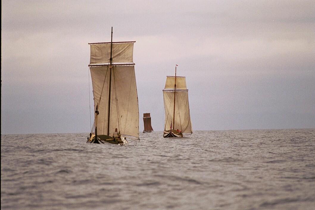 TRADISJON: Vestfjordseilasen er ikke bare for moderne regattabåter.