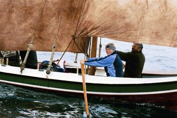 RO: Under Vestfjordseilasen er det lov for tradisjonsbåtene å bruke årer.