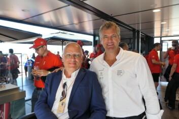 Haags Frank van der Peet og VOR Richard Mason