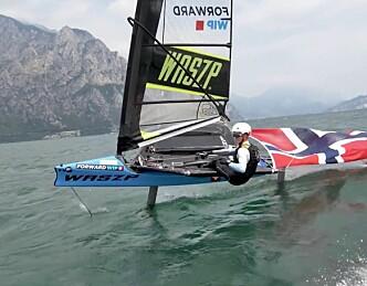 Nicolai Jacobsen, fersk Europamester i krevende båt