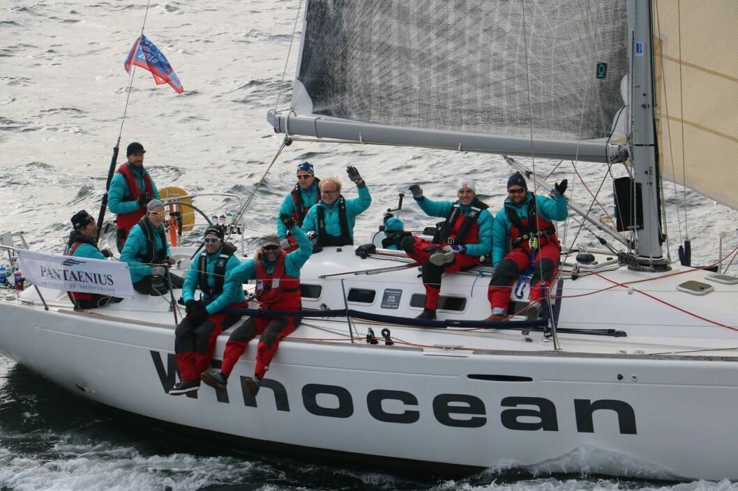 RASKEST: «Winocean» var raskest hjem fra Shetland etter korrigert tid.