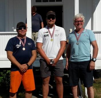 VINNERE: Gull: Anders Pedersen, sølv: Knut Beck, bronse: Tore Glen Berg