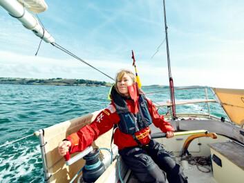 JENTE: Susie Goodall fant en gunstig kurs og har avansert sterkt i feltet.