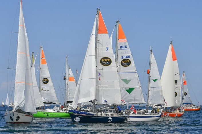 START: Golden Globe Race startet 1. juli. Are kom seg bra ut.