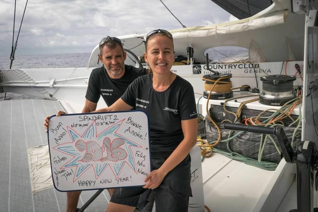Yann Guichard og Dona Bertarelli står bak Spindrift teamet