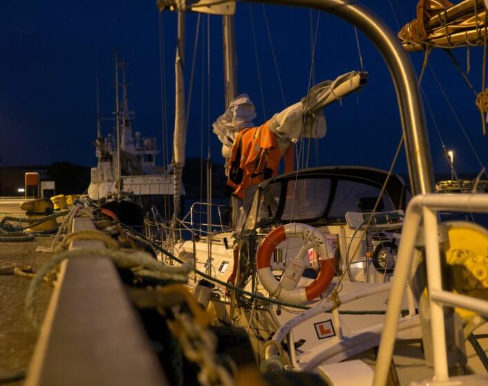 REDDET: «Pelagica» i havn i Sirevåg.