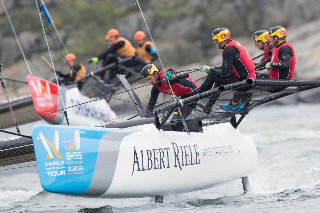 RISØR: World Match Racing Tour kommer nå til Sørlandsbyen.