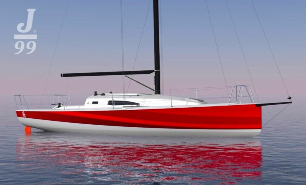 SHORTHAND: J/99 blir utviklet til europeiske regattaer, og skal kunne håndteres av en, eller to seilere.