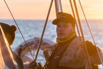 KURS: Skipper Thor Due leder ekspedisjonen.