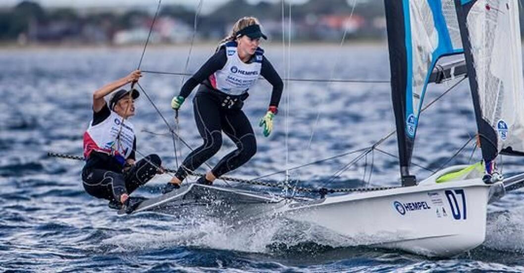 Helene Næss og Marie Rønningen i VM