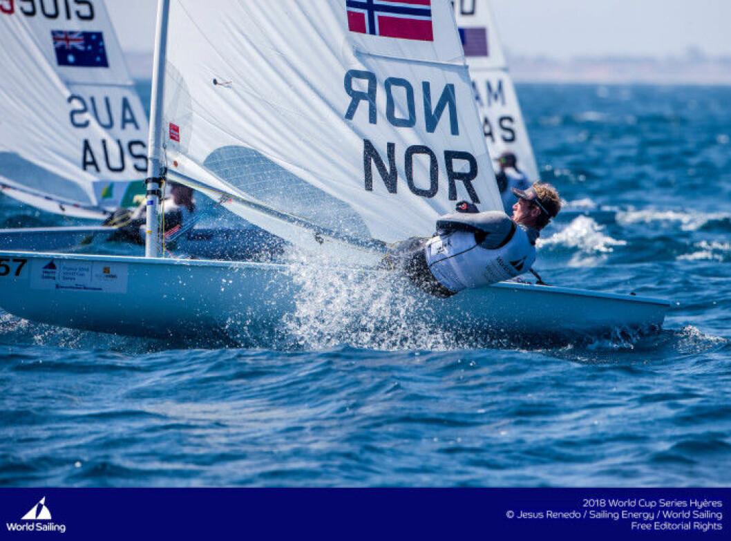 Hermann Tomasgaard 12 i Laser EM