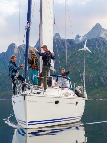 SUN ODYSSEY 34.2: «Pelagica» ved Trollfjorden.