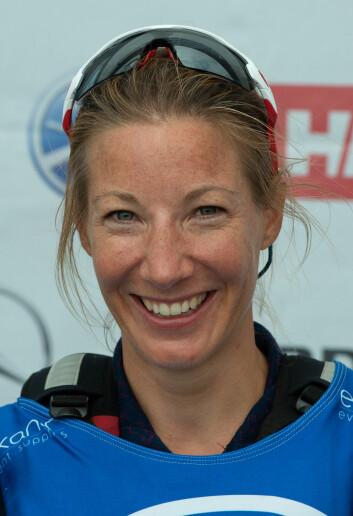 ERFAREN: Karen Kristoffersen er en av flere erfarne seilere på Åsgårdstrand-laget.