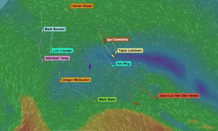 VIND: Are Wiig har stoppet opp, men bør være den første som får tilbake vinden. Da blir det kryss sydover.