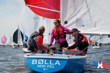VM: «Bølla» deltok i VM i Ynglig i 2017.