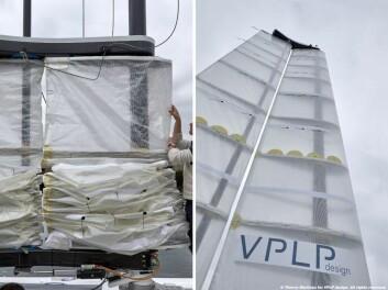 REVBAR: Riggen VPLP har utviklet styres elektronisk og er revbar.