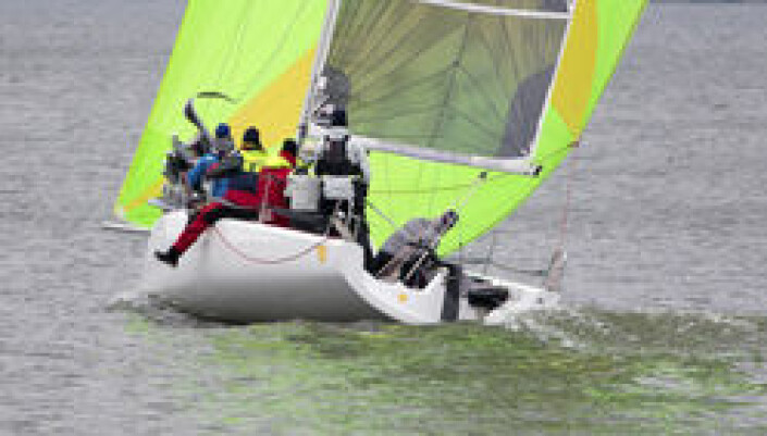 RASK: Fareast 28 skal seile fortest av sportsbåtene i følge måletallet.