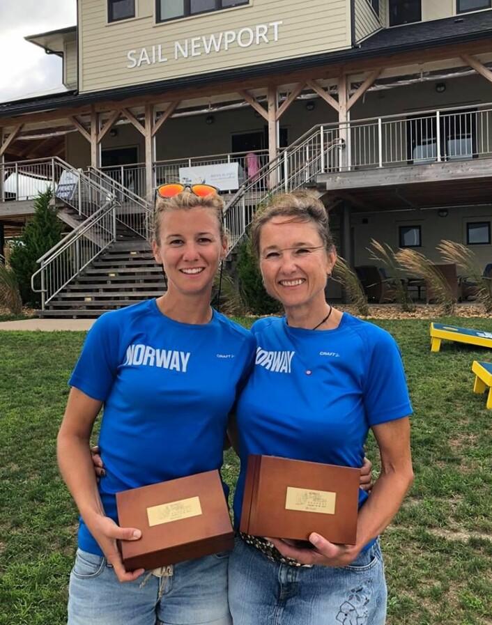 VM bronse til Anette Melsom Myhre og Janett Krefting