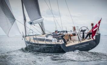 SJØSATT: X4.6 kommer rett fra verftet til Marstrand