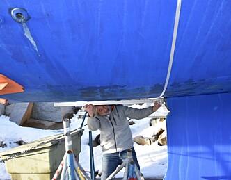 Delte meninger om båten tåler å stå på kjølen