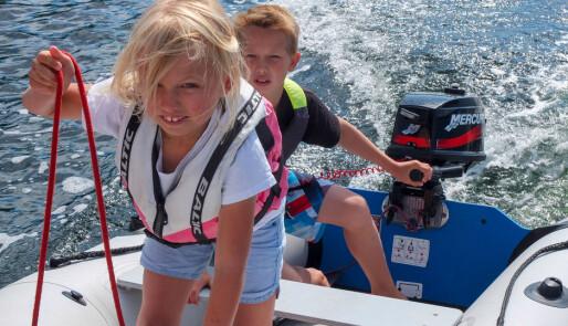 Seilferie med små barn om bord