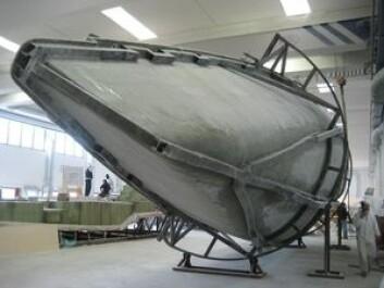 Formen er ferdig. Tre båter skal leveres i 2016, og to til er bestilt. Grand Soleil er over den vanskelige tiden.