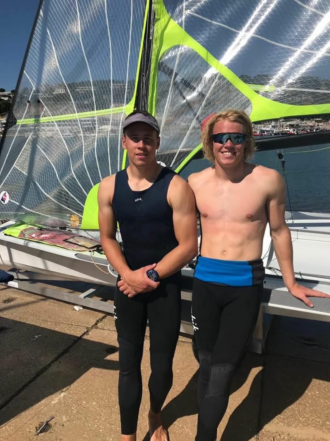 Tomas og Mads Mathisen, bronse i U23 EM
