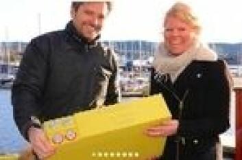Lars-Fredrik Moe-Helgesen og Gina Lillemork Nilsen har utstyrt båten sin med 1000 Ah litiumbatterier, og er kvitt strømproblemer.