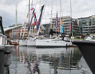 Disse seilbåtene kommer til Båter i Sjøen
