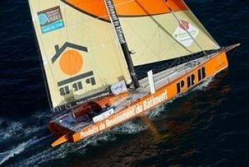 «PRB» er bygget i 2010, men henger godt med de nyere båtene. Også «PRB» er designet av VPLP Verdier.