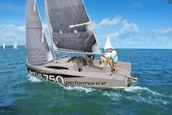 POLSK: Focus 750 Performance er en spennende overraskelse som vises under Båter i Sjøen.
