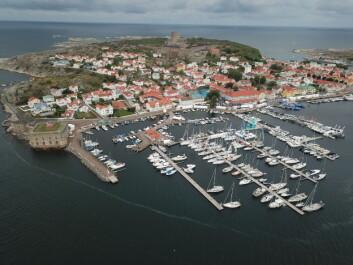MARSTRAND: Seilbåtsalget går tregt i Sverige. Det syns under båtutstillingen i Marstrand.