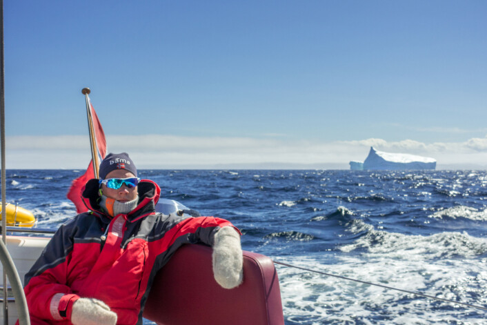 SEILER: Sindre Kolbjørnsgard er født i 1995, og har vokst opp i Bærum. Han er like glad i fjellet som havet. Han kjøpte seilbåt sammen med en venn som 15 og 16 år gamle.