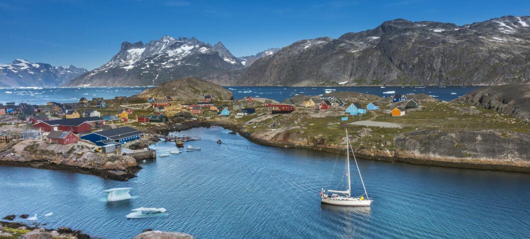 Nydelig dokumentarfilm om seiling ved Grønnland