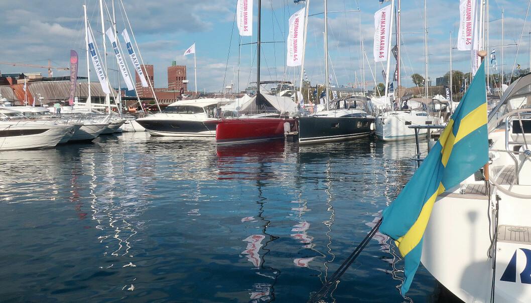STØRTS: Båter i Sjøen er norges største båtutstilling.