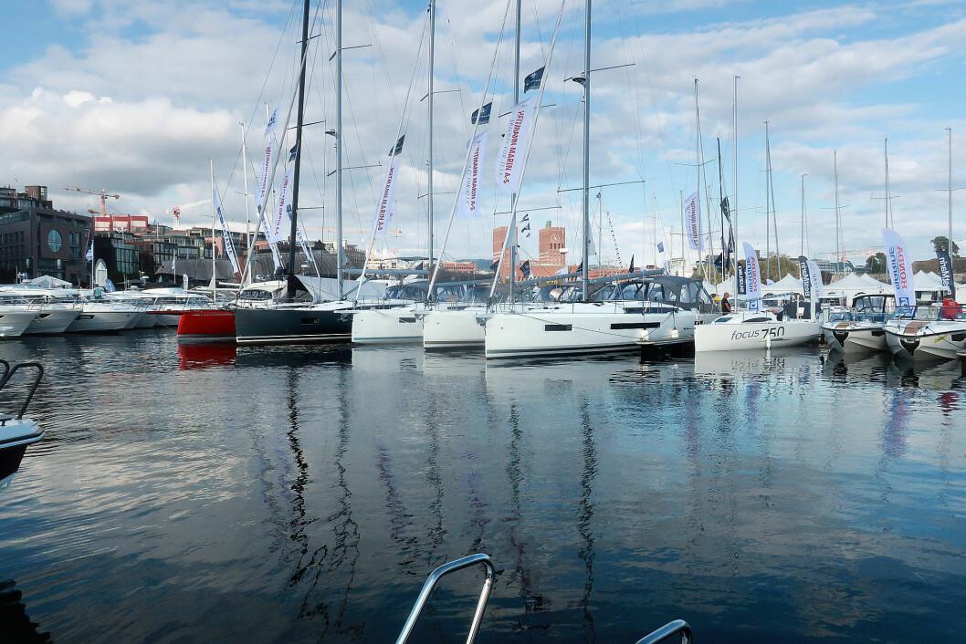 OPTIMISTER: Bransjen ser positive signaler i markedet etter Båter i Sjøen.