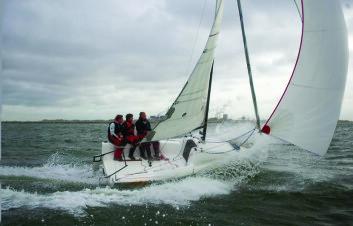 SPREK: Seascape 18 testet under tøffe forhold i Nederland i 2009.