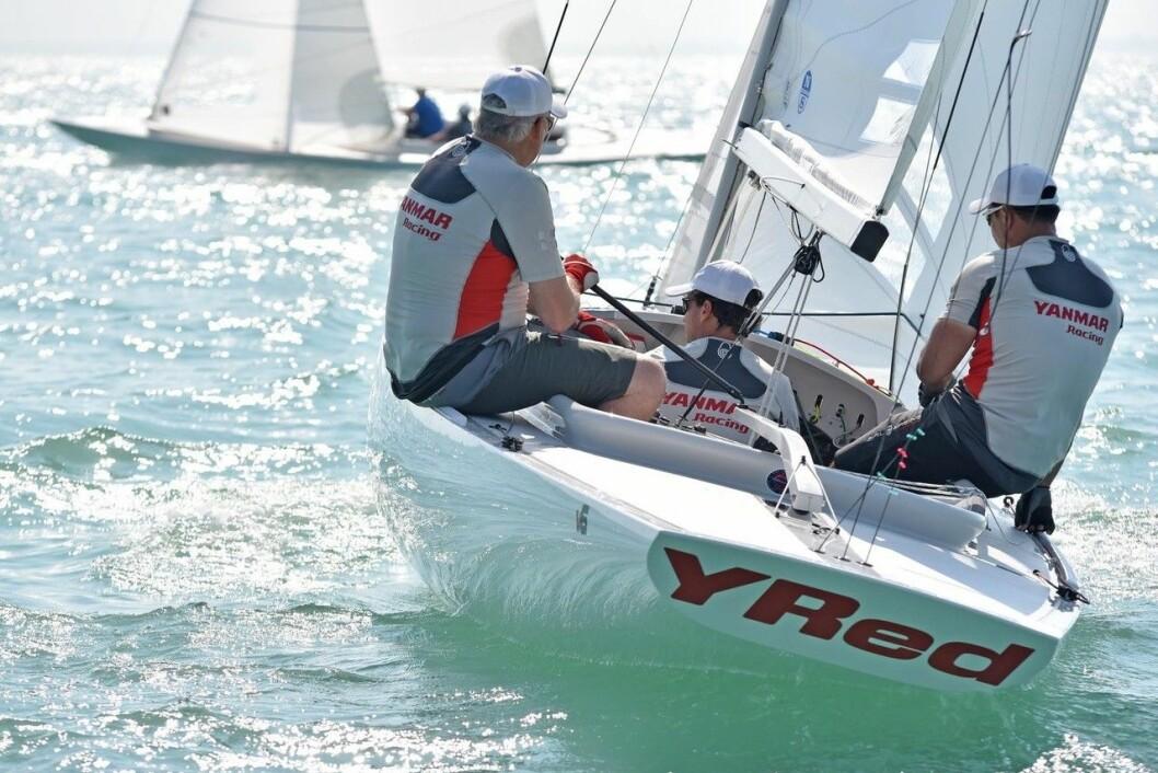 DRAKE: Yanmar sponser seiling, og har bærekraftig fremtid som slagord.