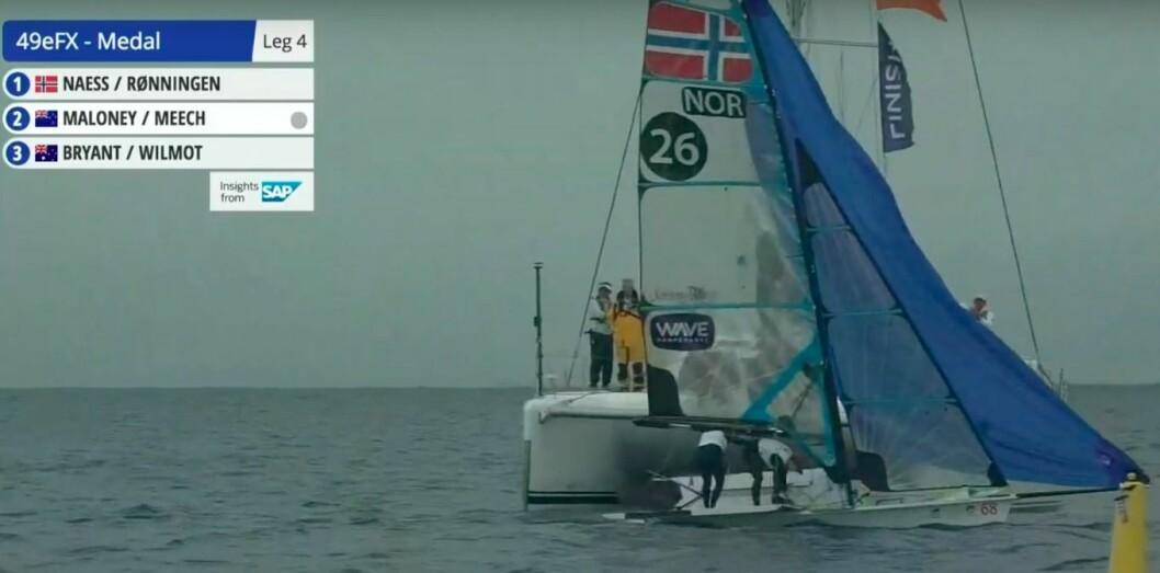 Næss/Rønningen vinner medaljefinalen i Enoshima