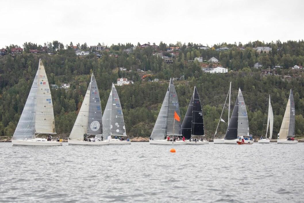 HØSTCUP: Nesodden Seilforening håper på 60-70 båter til helgen.