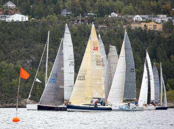 MEDSTERSKAP: Regattaen er også klubbmesterskap for First 31.7 og X35.