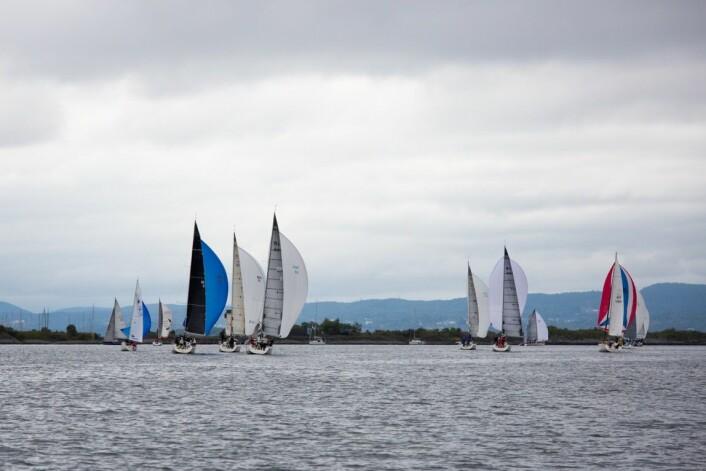 OSLOFJORDEN: Nesodden Høstcup avslutter sesongen på Østlandet for de store båtene.