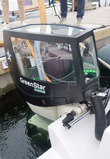 200HK: Motoren er elektronisk begrenset til 200 hk. For å få mer kraft kreves det ett kraftigere undervannshus.