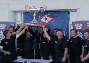 Niklas Zennström og laget hans var de første svenske seilerne som vant One Ton Cup siden 1959