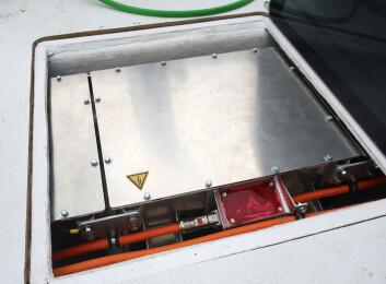 55kWh: Batteriet er på størrelse med siste generasjons elbiler. Nissan Leaf har 40 kWh, Hyundai Kona 60 kWh.