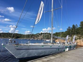 MAXIRATER: «Odine», som lenge lå i Vollen,  gjennomgår nå en restaurering. Den 80-fots lange båten blir arena for seilfest.