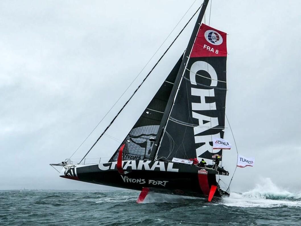 FLYR: «Charal» er første båt i den nye generasjonen utviklet for Vendee Globe 2020.